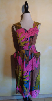 Robe tropicale 90's T.38