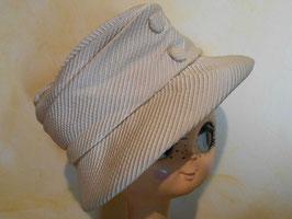 Chapeau blanc 50's
