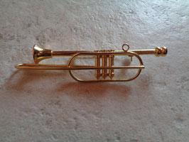 Broche trompette
