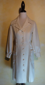 Robe blanche 60's T.36