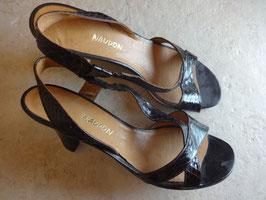 Sandales fines cuir P.38