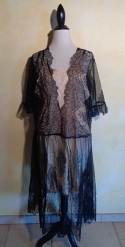 Robe chantilly 20's T.36-42