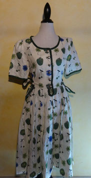 Robe fruits 70's T.40