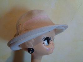 Chapeau laine blanc