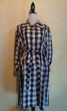 Robe carreaux 70's T.38