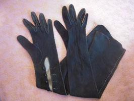 Longs gants noirs 1900
