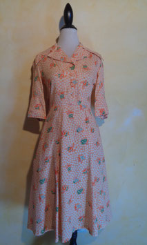 Robe mandarine 70's T.36