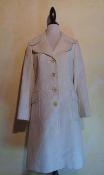 Manteau blanc 70's T.38