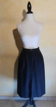 Jupe laine noire 70's T.40