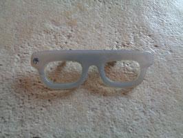 Broche lunettes 60's