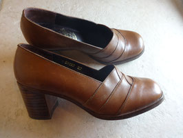 Chaussures marrons 70's P.37