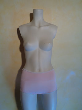 Shorty rose et blanc 60's T.40