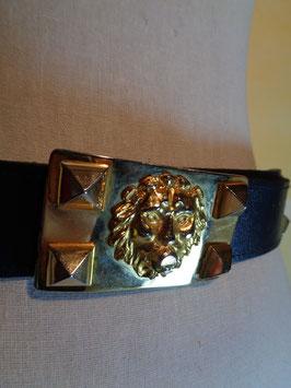 Ceinture cuir lion
