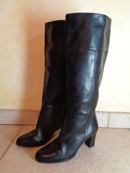 Bottes cuir noires P.36