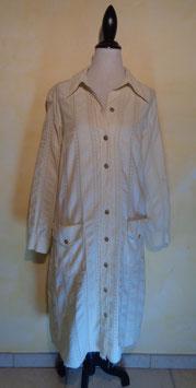 Manteau en coton 70's T.40