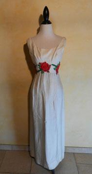 Robe roses 60's T.36