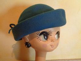 Chapeau turquoise
