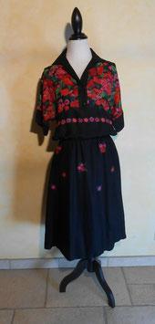Robe fleurs 70's T.42