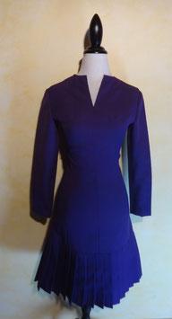 Robe violette 70's T.36