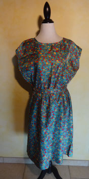 Robe fruits 60's T.38