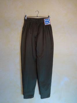 Pantalon carotte kaki 80's T.38