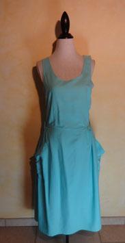 Robe turquoise 90's T.40