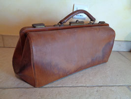 Doctor's bag cuir 1900