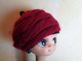 Bonnet laine 50's