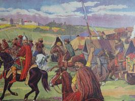 "Affiche scolaire MDI ""Attila et les Huns/une ville gallo-romaine"""