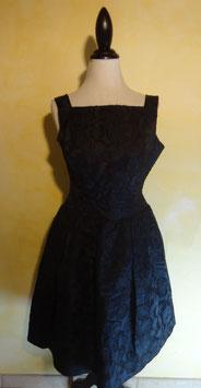 Robe de bal noire 50's T.36