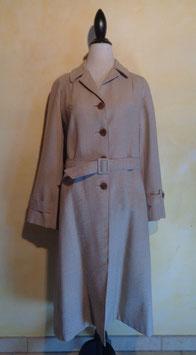 Manteau à carreaux 70's T.40