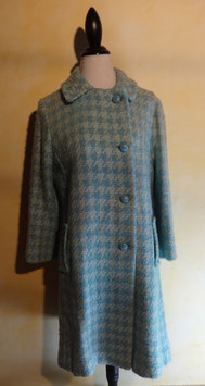 Manteau carreaux 60's T.38