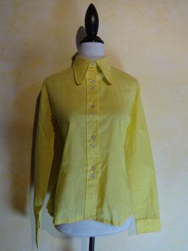 Chemise jaune 60's T.36