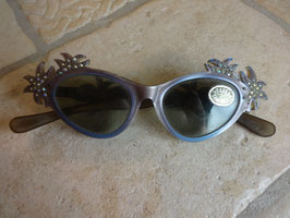 Lunettes strass 50's