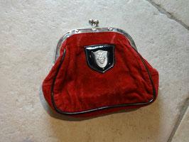 Porte monnaie rouge 50's
