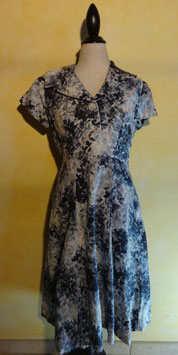 Robe grise 50's T.38