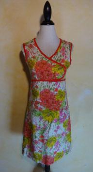 Robe fleurs jardin 60's T.36