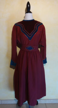 Robe laine Chacok 70's T.38