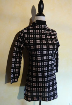 Pull carreaux 60's T.36