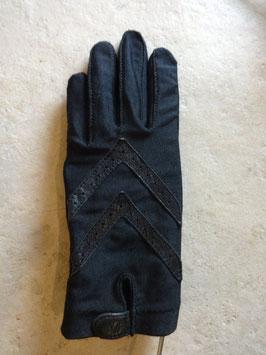 Gants noirs 60's