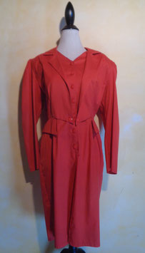 Robe rouge 80's T.44