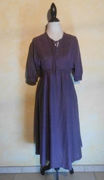 Robe violette 40's T.38