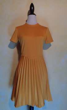 Robe moutarde 60's T.38