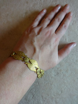 Bracelet doré 50's