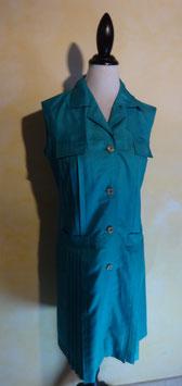 Robe turquoise 80's T.42