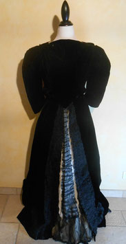 Robe velours 1900 T.36-38
