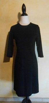 Robe jersey noire 60's T.38