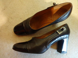 Chaussures cuir JB Martin 70's P.38