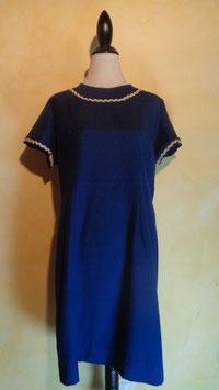 Robe bleue 60's T.40