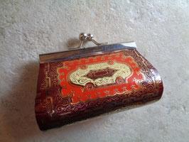 Porte monnaie cuir oriental